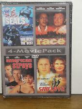 U.S. Seals, Race, American Strays, Santa Fe (DVD) 4-MOVIES! BRAND NEW!