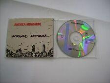 ANDREA MINGARDI - AMARE AMARE - CD SINGLE VERY GOOD CONDITION 1994