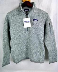 Patagonia BETTER SWEATER 1/4 Zip Fleece Jacket AUTHENTIC 25617 Womens SLIM NEW