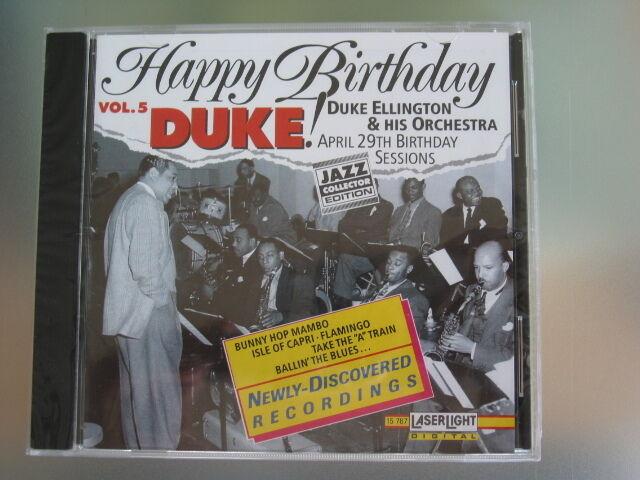 Top Jazz CD, Duke Ellington & His Orchestra, Happy Birthday Duke, NEU + in Folie