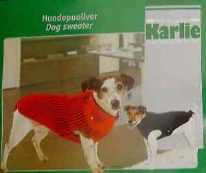 Hunde-Strick-HUNDEPULLOVER-Hundemantel-Hundejacke-Hundebekleidung-von-Karlie