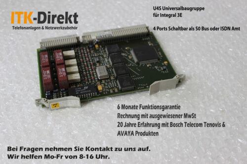Bosch Telecom Tenovis Integral 3 U4S  28.4400.3101 Rechnung /& Garantie