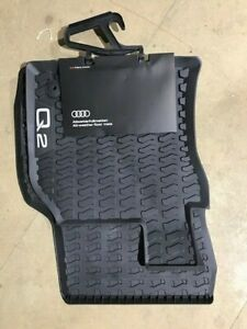 Genuine Audi Q2 Front Rubber Floor Mats 81C061501041