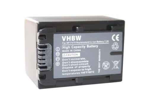 con info chip para Sony handycam hdr-xr550e np-fv70 Videocámara acu Batería Acu