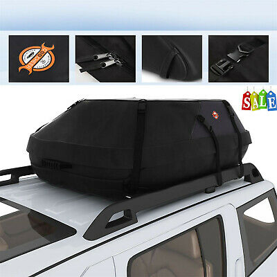 "Cargo Roof Top Carrier Bag Rack 41x35x17/""Storage Luggage Travel Truck US Stock"