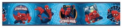 Marvel Ultimate Spiderman on Sure Strip Wallpaper Border ZB3262BD