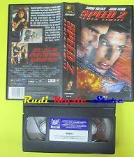 film VHS SPEED 2 SENZA LIMITI 1998 20th CENTURY FOX 6100SA 125 mins (F33) no dvd