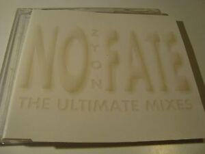 RAR-MAXI-CD-ZYON-NO-FATE-THE-ULTIMATE-MIXES-6-TRACKS