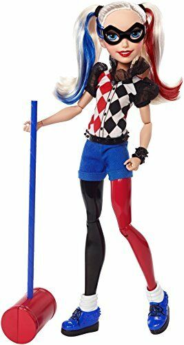 "Damaged Box DC Super Hero Girls Harley Quinn 12/"" Action Doll"