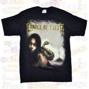 CRADLE-OF-FILTH-Snake-Black-T-Shirt