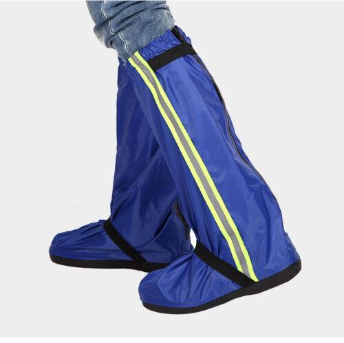 Unisex Reusable Rain Snow Shoe Covers Waterproof Overshoes Anti-slip Boots Gear