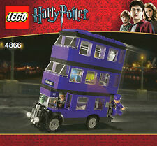 LEGO 4866 - HARRY POTTER - The Knight Bus - INSTRUCTION MANUAL ONLY