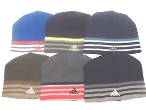 0a14edcf Image is loading ADIDAS-Men-039-s-M-Eclipse-Reversible-Beanie-ClimaWarm-