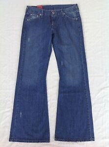 Flared-Bootleg-Womens-Vintage-Retro-Levis-Jeans-NWT-Sizes-9-amp-10