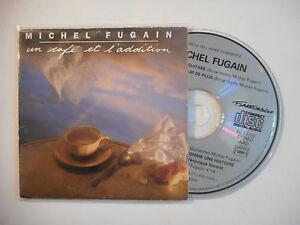 MICHEL-FUGAIN-UN-CAFE-ET-L-039-ADDITION-CD-SINGLE-PORT-GRATUIT