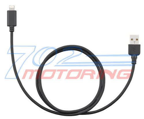 """KENWOOD DNX771HD /""""AUTHENTIC KENWOOD KCA-IP103 LIGHTNING TO USB CABLE APPLE 5S"""