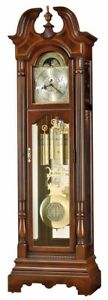 Howard-Miller-611-260-Bretheran-Traditional-Cherry-Grandfather-Clock-611260