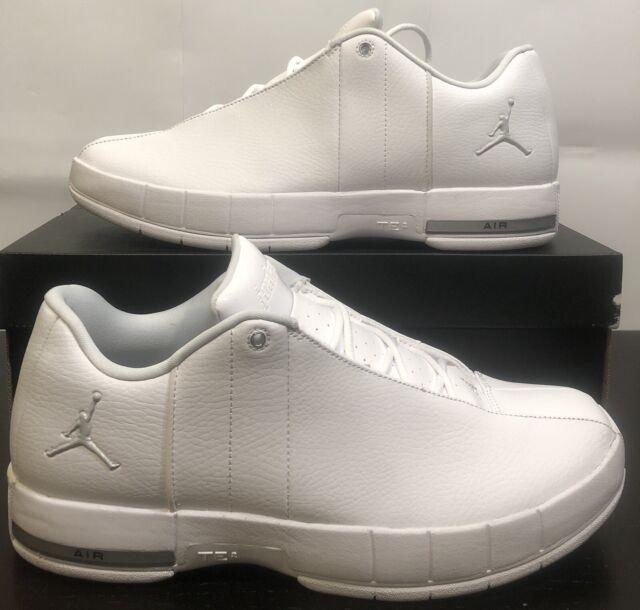 cheap for discount 40b90 a0d32 Nike Air Jordan Te Team Elite 2 Low Size 9 White Metalic Silver Ao1696 100
