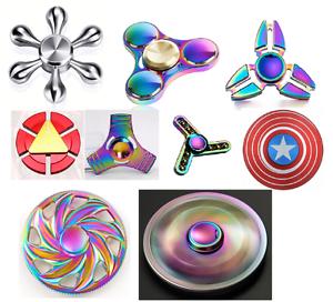 Bangers-doigt-Spinner-main-Spin-Titanium-EDC-Bearing-Focus-Stress-Jouet-Arc-en-UK