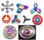 Bangers-doigt-Spinner-main-Spin-Titanium-EDC-Bearing-Focus-Stress-Jouet-Arc-en-UK miniature 1