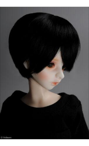 1//4 BJD MSD Wig 18-20 cm 7-8 inch  KSN Cut Wig DM Black
