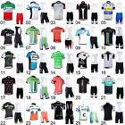 New Mens Bike Cycling Jersey Bib Shorts Kits Riding Shirts Brace Knickers Sets
