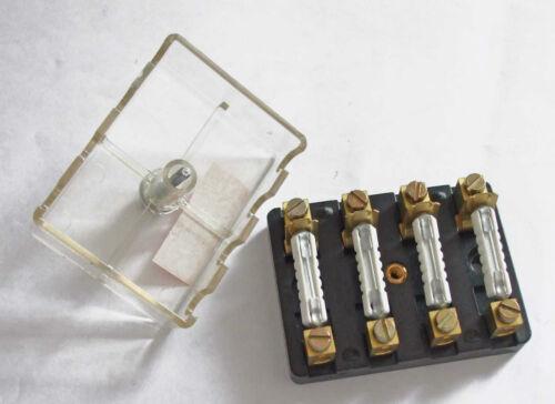 4 way                       FUB4 Fusebox for /'Continental/' ceramic fuses