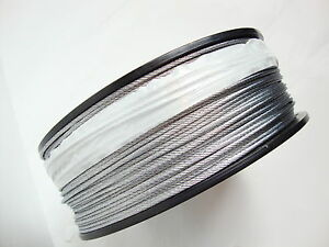 Galvanized Wire Rope Cable 5 32 Quot 7x19 100 200 250 500
