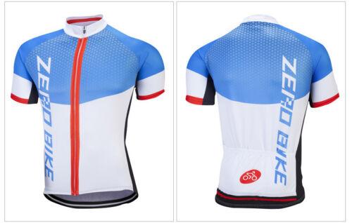 New Zerobike Men/'s Cycling Jersey Bicycle Sportswear Short Sleeve Bike Shirt Top