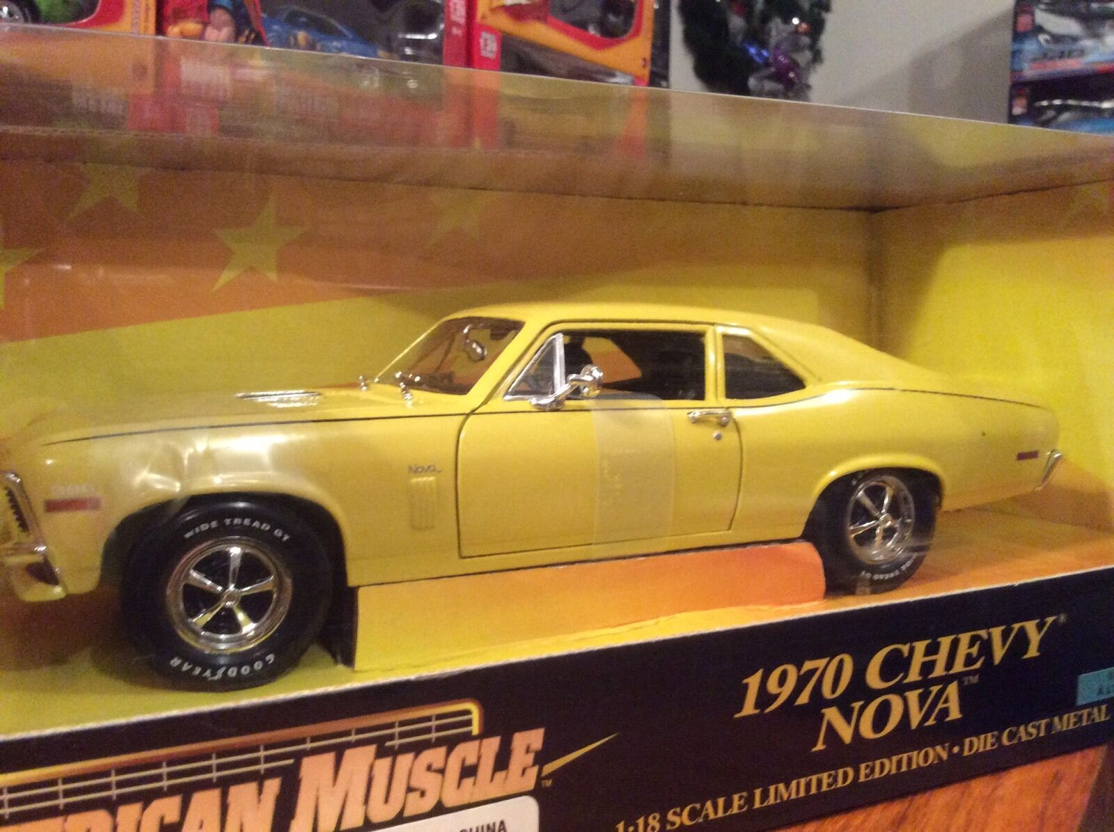 Ertl 1 18 1970 Chevy Nova SS Item 32231