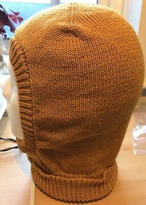 Men/'s Knitted Balaclava In Bottle Green Soft /& Warm DK Yarn Hand Made