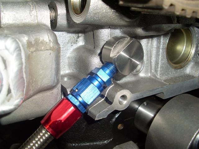 RB30DET VCT Oil Feed Kit using R34 RB25det Neo Head