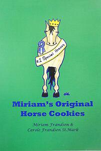 Miriam's Original Horse Cookies