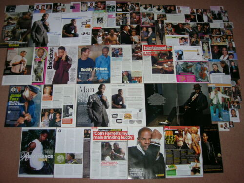 75 JAMIE FOXX Magazine Clippings