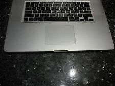 "APPLE Genuine MacBook Pro 17"" A1297 Mid 2009 Top Case Keyboard TouchPad Palmrest"