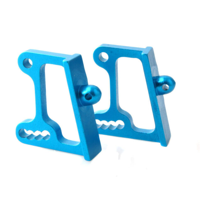 HSP 166045 Aluminum Wing Adjustable Mount Blue 2P For RC 1/10 Off-Road Buggy
