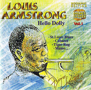 LOUIS-ARMSTRONG-034-Hello-Dolly-034-Jazz-20-Tracks-NEU-amp-OVP-Cosmus-DSB
