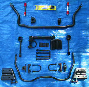 Details about FRONT & REAR SWAY BAR HOP SHOCK SPRING PLATES S10 XTREME  SONOMA BOLT ON KIT ZQ8