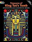 Treasures of King Tut's Tomb Stained Glass Coloring Book by Arkady Roytman (Paperback, 2009)