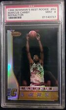 1996 Bowmans Best Rookie Marcus Camby Refractor RC #R4 Graded PSA MINT 9