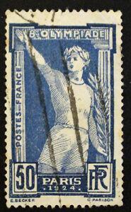Sello-FRANCIA-FRENCH-Stamp-Yvert-y-Tellier-n-186-matasellados-Cyn22