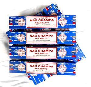 12 Pack Satya Sai Baba Nag Champa par 15 g (180 g- 100 G = 6-06 €) Encens 2018-6 €) Räucherstäbchen 2018afficher le titre d`origine pA25CDFa-07204802-513997858