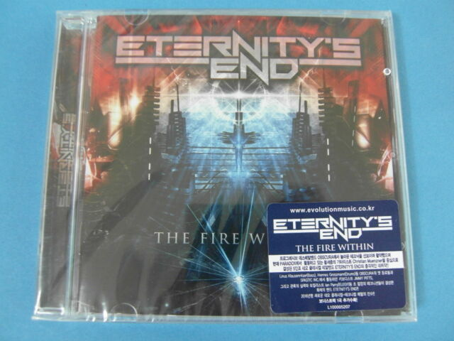 Eternity 'END-The Fire Within CD + Bonus Track (versiegelt)