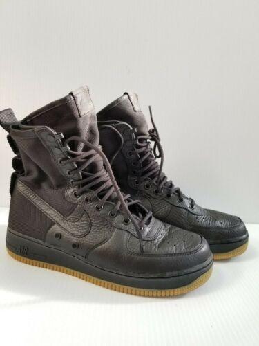 Air 9 Nike Force De SF 864024 1 001 Gum Special segunda mano Black Tamaño Field Af1 tqScBF