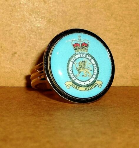 FREE CALCULATOR ROYAL AIR FORCE POLICE MEN/'S ADJUSTABLE RING