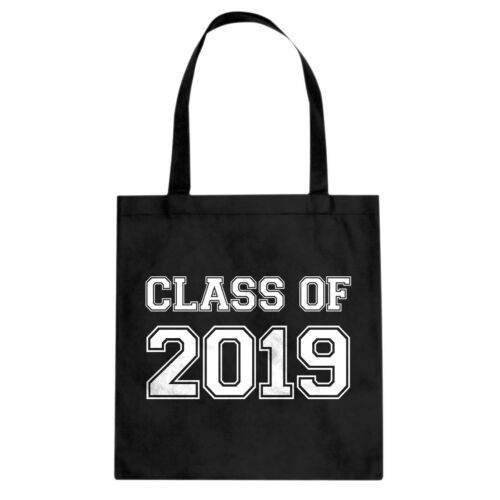 Class of 2019 Cotton Canvas Tote Bag #3560