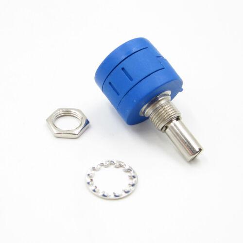 2PCS 2K Ohm Rotary Wirewound Precision Potentiometer Pot 10 Turn  3590S-2-202L