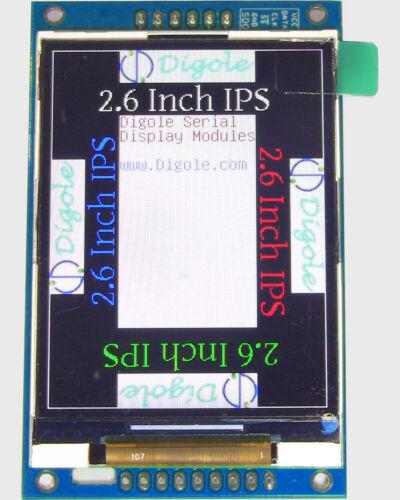 """2.6/"""" Serial UART//I2C//SPI IPS Super TFT 320x240 module d/'affichage pour Arduino"""