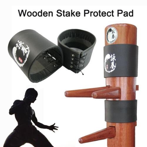 2 pcs Wing Stun Kung Fu Pads  Wing Chun Ip Man Wooden dummy Head Protect Pads