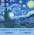 Famous Flute Miniatures (CD, Jan-2000, Dux Records)